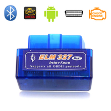 24V bluetooth Wireless OBD2 ELM327 OBDII Car bluetooth Adapter Scanner Code Reader/Scan Tool Check Engine Light for Japanese Car