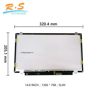 "B140XTK01.0 H/W: 4A 8A(Touch) 14 inch lcd monitor touch screen for Dell 14"" WXGA HD Display"
