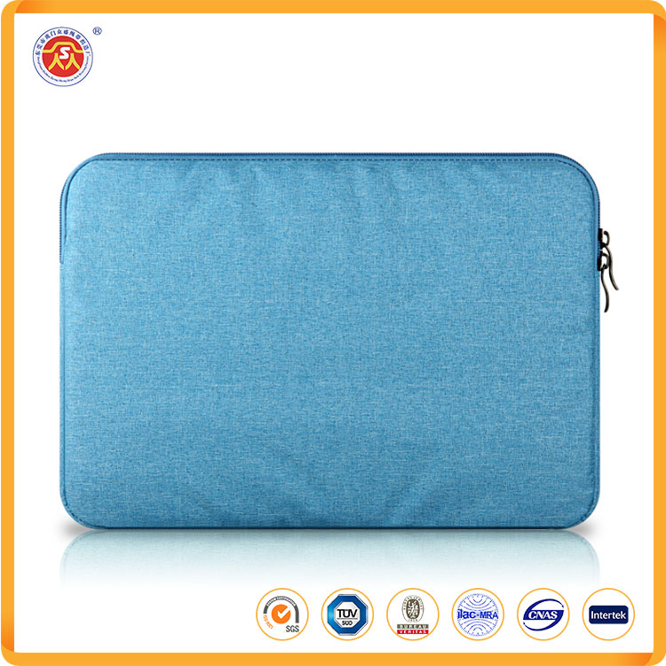 Costom color waterproof laptop bag with women polyester computer bag for computer inner bag