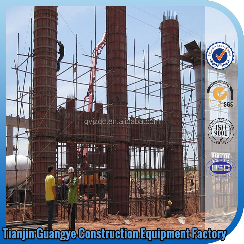 Tianjin GuangYe civil works metal formwork waffle concrete forms construction material