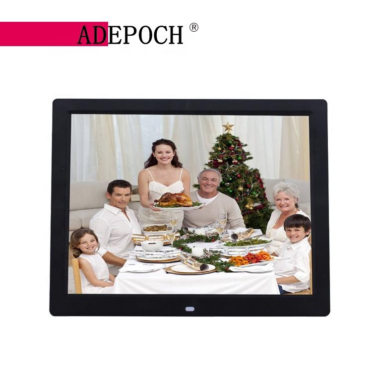 Customized OEM lcd video playback monitor 14 digital frame photos CE ROHS EMC FCC certification 3 year quality warranty фото