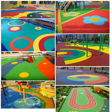 Weather And UV Resistant EPDM Flooring For Amusement Parks FN-E-16031517