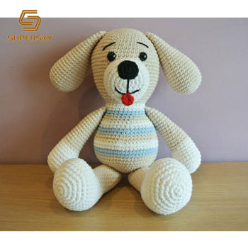 A464-1 Crochet Pet Bone Amigurumi Toys Crochet Dog Toy Amigurumi ... | 350x350