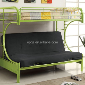 Modern School Bedroom Furniture Of Dorm Double Fancy Heart Shaped Bunk Bed  For Sale