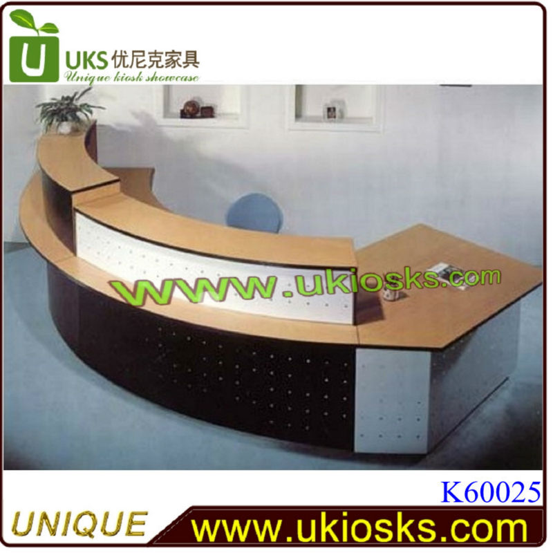 Modern Wooden Hotel Reception Counter Design For Sale Buy
