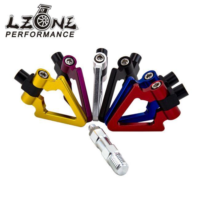Lzone гонки - алюминиевых заготовок фаркоп-и F и R треугольник кольцо буксирный крюк для BMW мини купер F10 F11 F25 F26 3 / 4 / 5 серии JR015