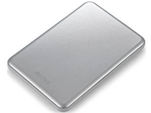 Buffalo MiniStation Slim 500GB USB 3.0 Portable Hard Drive - HD-PUS500U3S Silver