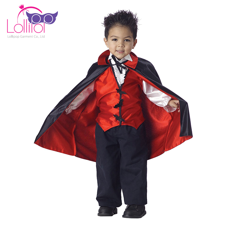 China factory customized best boys vampire costumes for halloween for kids
