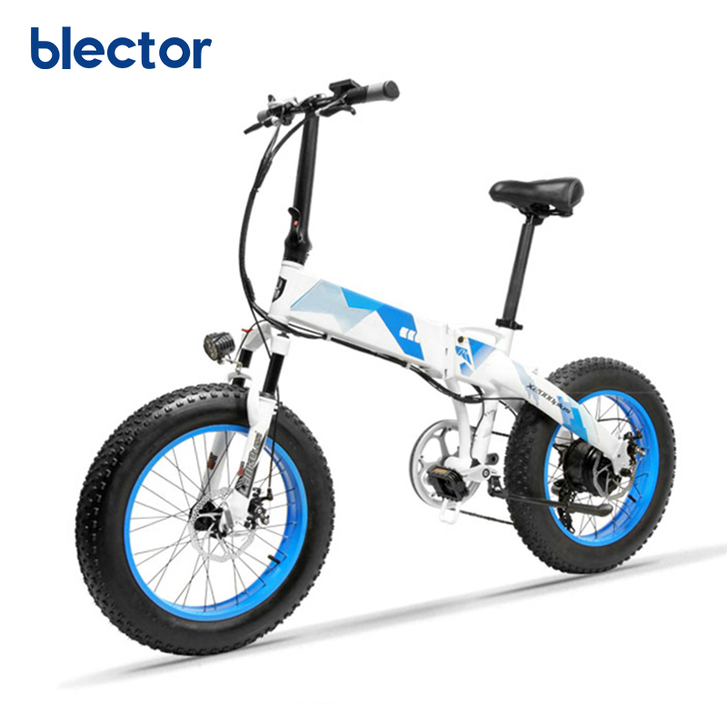 20 Inch Fat Tire Electric Motor Bicycle from China, Black orange or oem