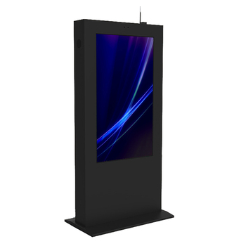 55 inch LED full HD floor standing outdoor advertising player