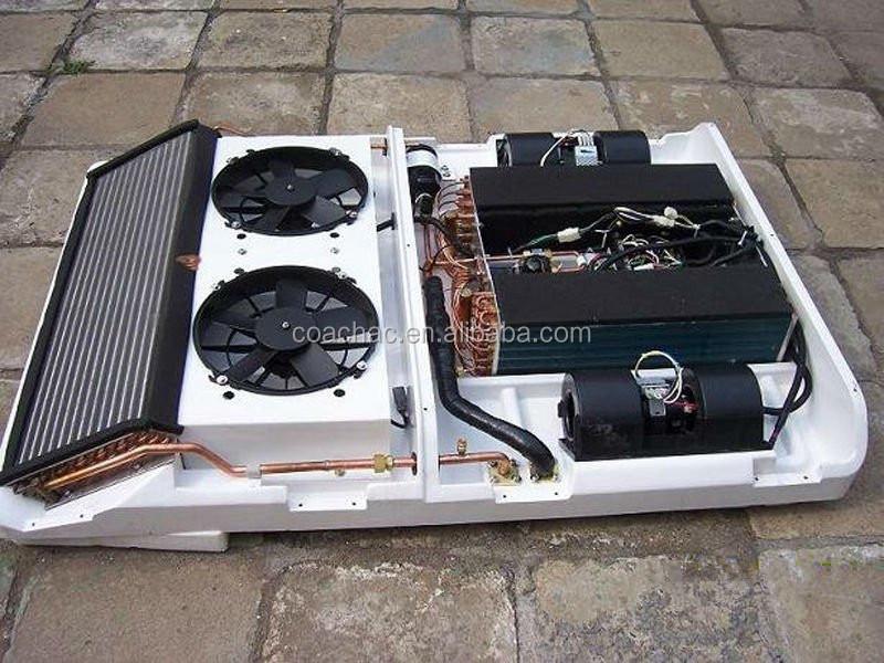 12kw Mini Van Ar Condicionado Montagem Do Telhado Do