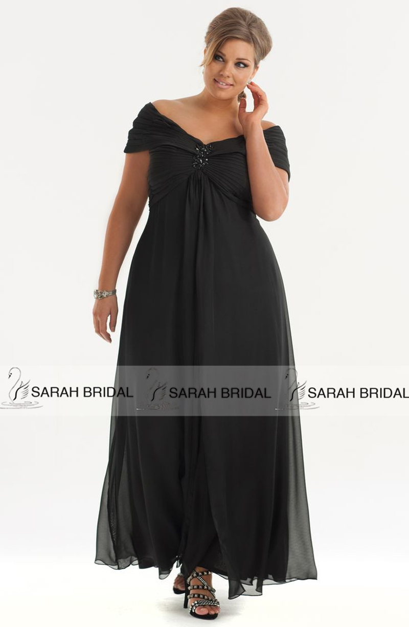 59806f89412 Get Quotations · Hot Plus Size Black Mother of the Bride Dresses Cap  Sleeves 2015 Chiffon Brides Mothers Dresses