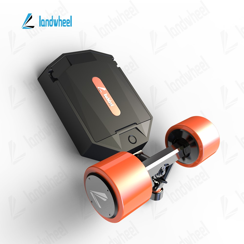 Electric Dual Hub Motor Power 4 Wheel Skateboard Drive