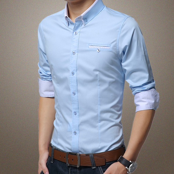 36581ae6dfd MS70194G Wholesale fashion men's work shirt latest formal shirt designs for  men