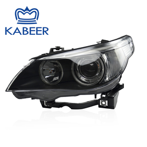 Wholesale car headlight for E60 auto spare parts headlight with HID Xenon