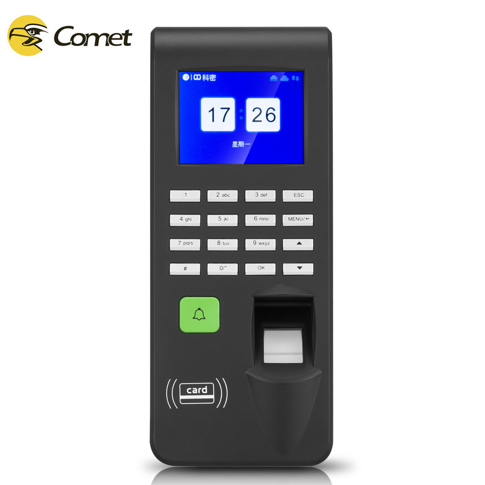 China factory door access controller system with attendance system 2 in 1 with fingerprint,ID card,password