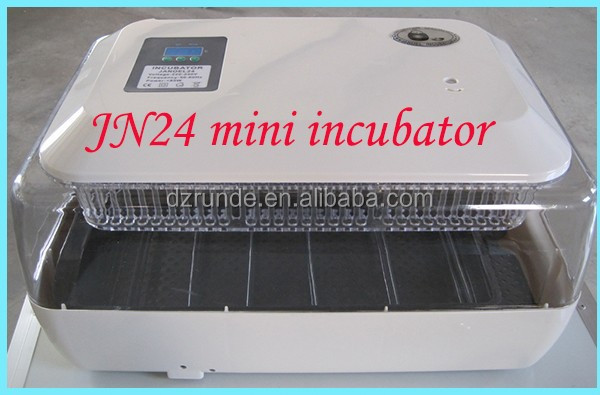 Top selling newly design full automatic mini egg incubator hatching 24 eggs for sale