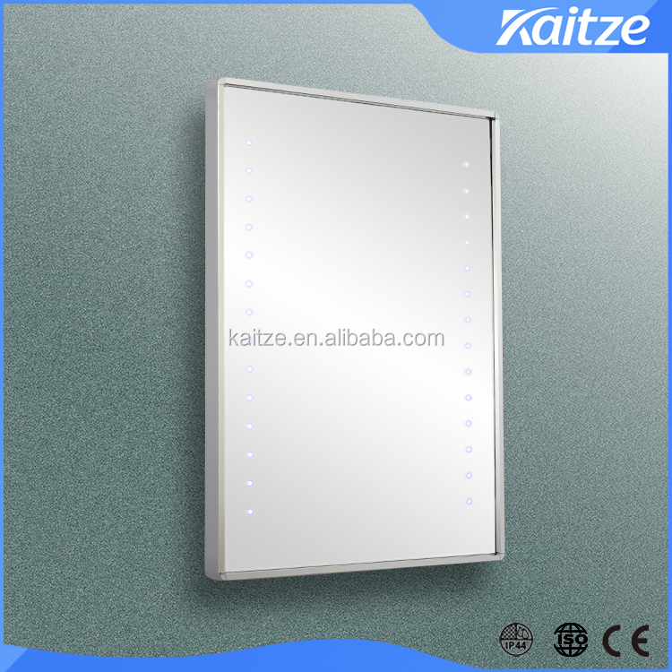 Full Length stainless steel Illuminated Bathroom Mirror with LED Light