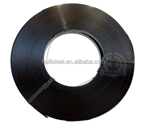 Corrugated steel tube baling packing strip steel strapping
