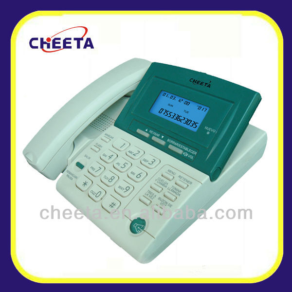 novelty touch panel caller id phone
