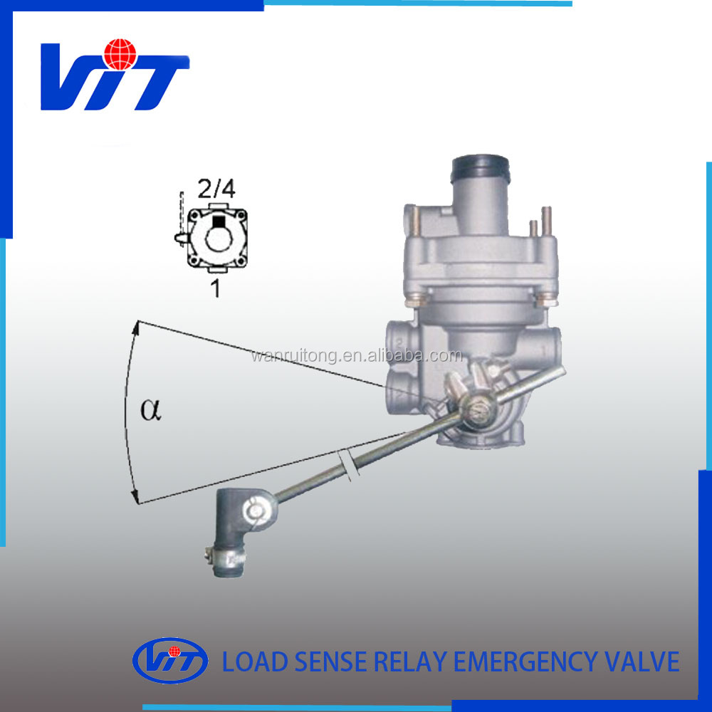 VIT heavy duty truck spare parts load sensing valve 4757100360/ 4757100200/4757100080