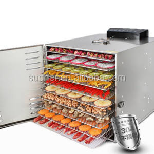 Stainless Steel 10 tray Commercial Food Dehydrator