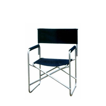 Lightweight Aluminium Folding Director Chair With Side Table And