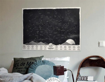 Ct-451 High Quantity Star Map Luminous Constellation Map