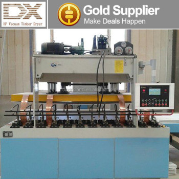 High frequency bending wood board joint multi-functional machine