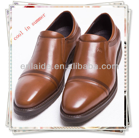 magnetic fir nano leather shoes calf Massage 665rq