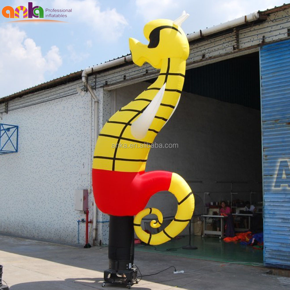 2017 New style custom inflatable animal air dancer advertising