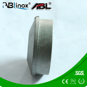 Stainless Lost Foam Casting forged wheel blank foundry