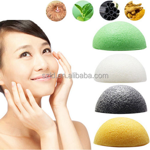 Japan natural konjac bath sponge organic