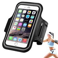 Cell phone neoprene sport armband case 5.5 inch mobile phones running armband for iphone 6 plus