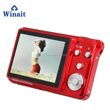 Max 15MP Fotocamera Digitale Con Zoom Ottico <span class=keywords><strong>3X</strong></span> Zoom Digitale 4X 2.7 Pollice TFT Display LCD