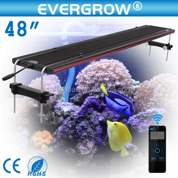Fabriek Groothandel IT5012 48 inch 4ft intelligente led aquarium licht voor SPS/LPS