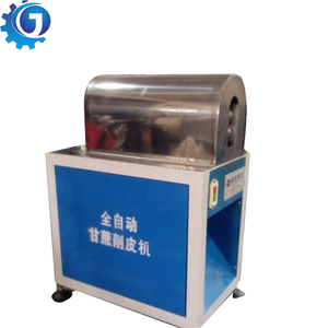Sugarcane processing peeling machine Sugarcane cutting machine Sugar cane peel removing machine