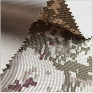 Digital Camouflage Printed PU Backing 600d Polyester Oxofrd Fabric Waterproof
