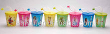 3D Lenticular Cup with lid and straw, Promotional cup