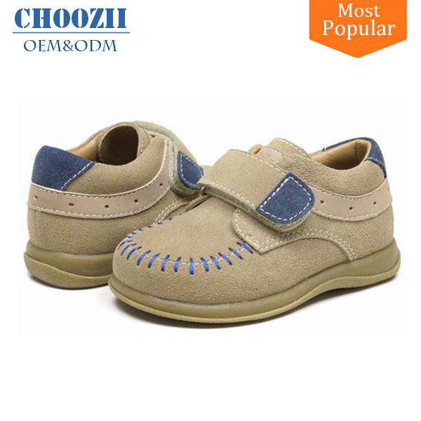 Latest Hot Luxury Footwear Pictures Kids Boys Stylish Suede Leather Casual Shoes