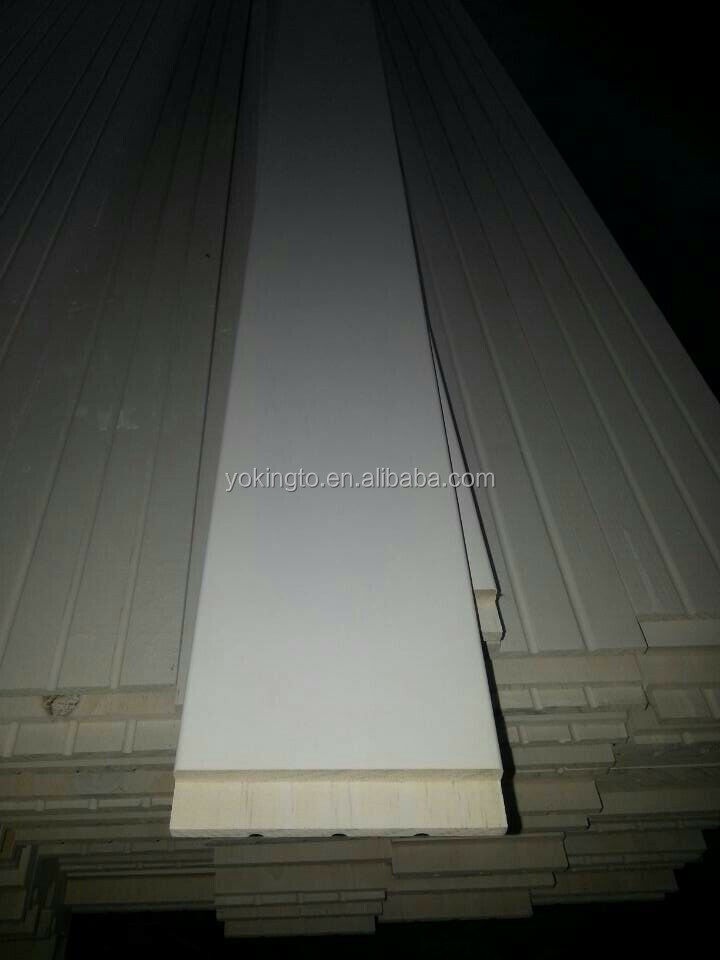 Pine Wood Mould Crown Molding Skirting Board