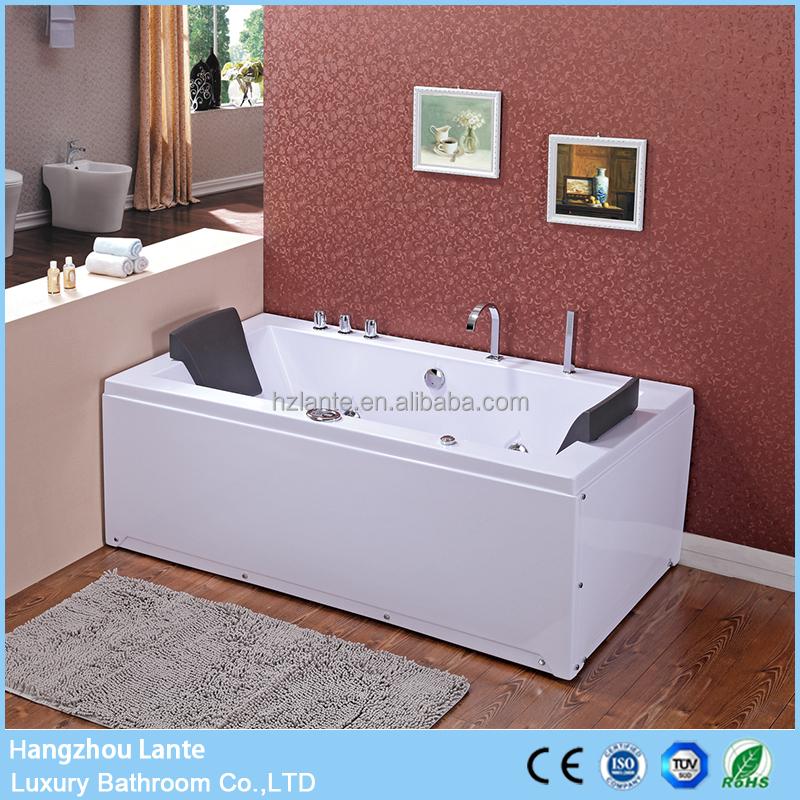 Portable Double End Rectangular Whirlpool Spa Bath - Buy Portable ...