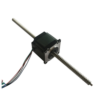 Good price TR8 TR10 nema 23 lead screw non-captive linear stepper motor