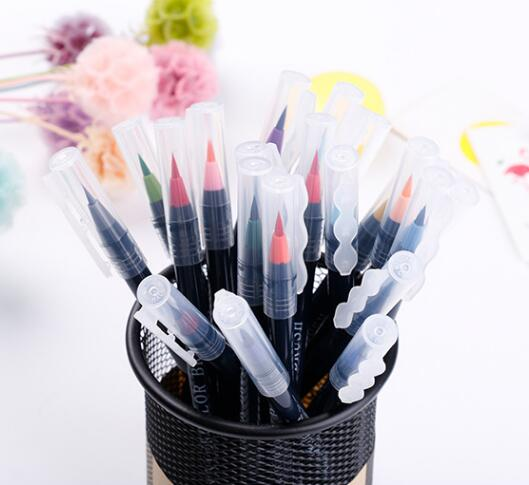 Water color Brush pens art markers real brush pens draw pictures