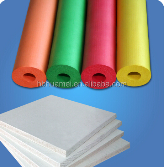 Colorful Heat Resistant Insulation Hard Foam Rubber Products