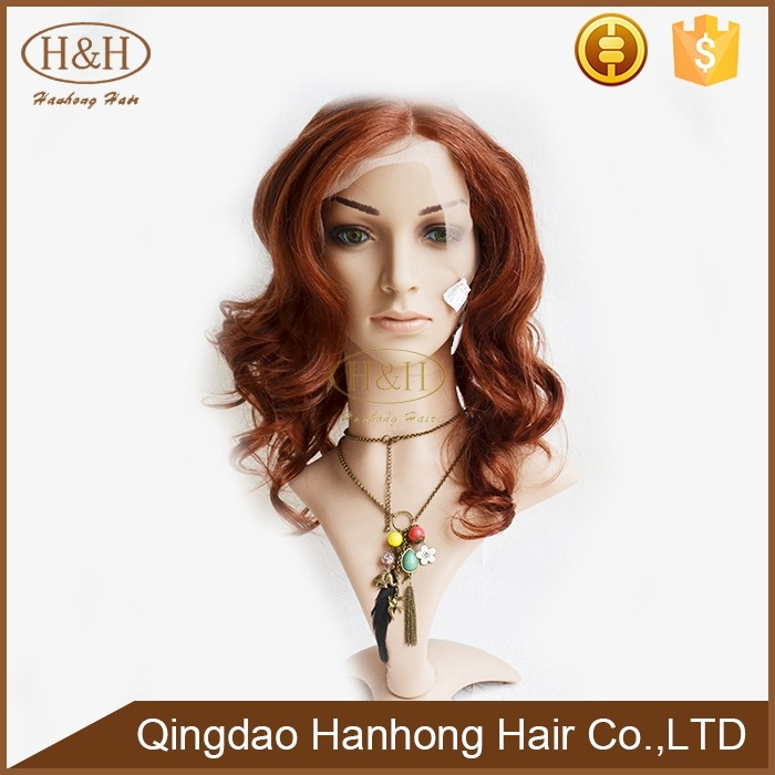 Best selling products 2016 white human hair wig new items in China market