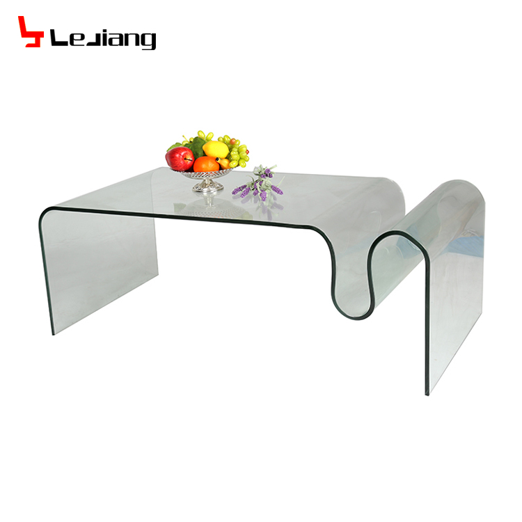 Living room furniture modern glass coffee table cheap center table