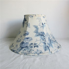 Antique indoor lighting decoration Chinese style softback lamp shade, ink printing lamp cover