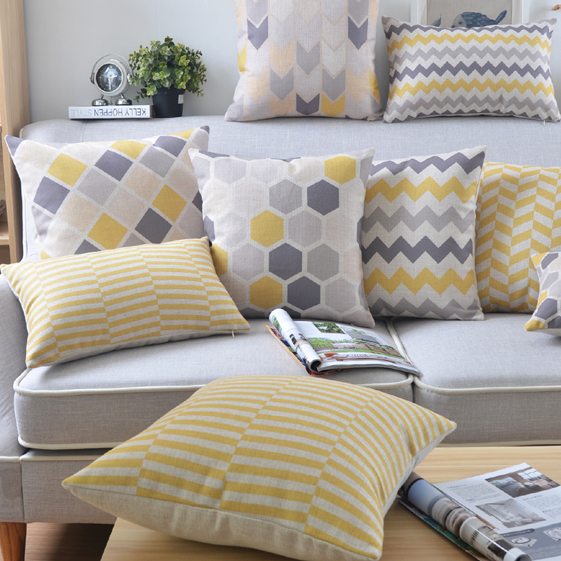 achetez en gros coussin jaune en ligne des grossistes coussin jaune chinois. Black Bedroom Furniture Sets. Home Design Ideas