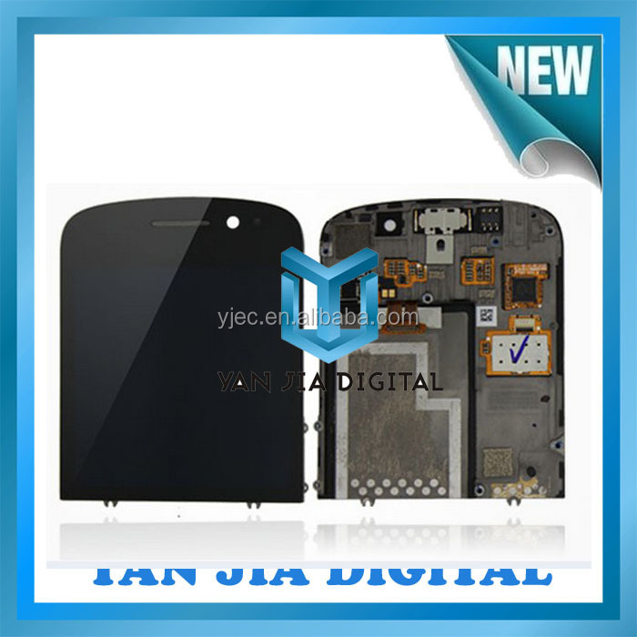 Repair parts for blackberry q10 LCD and digitizer assembly